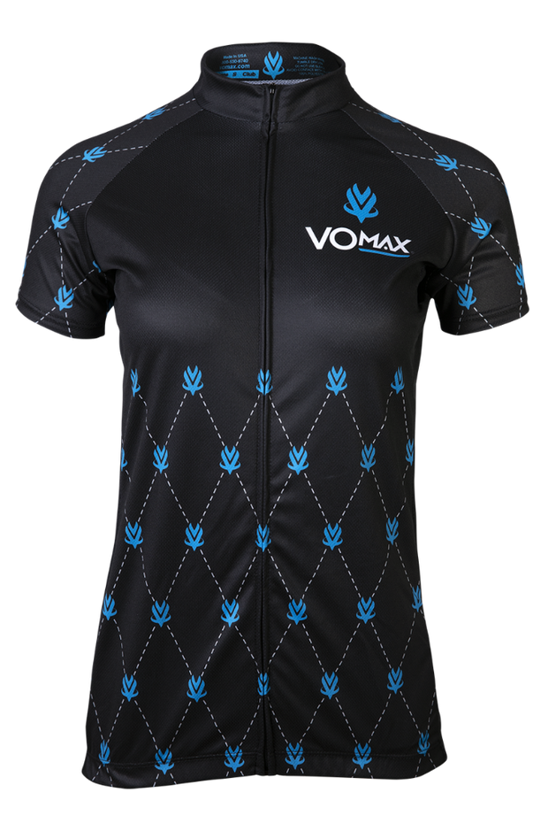 Women's VOmax Short Sleeve Classic Club Cycling Jersey