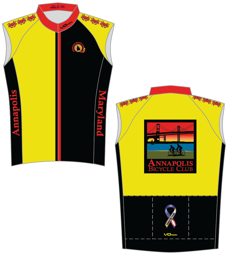 Annapolis Bicycle Race Sleeveless Cycling Jersey