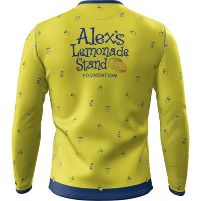 Team Lemon + Mens Long Sleeve REC T Elite