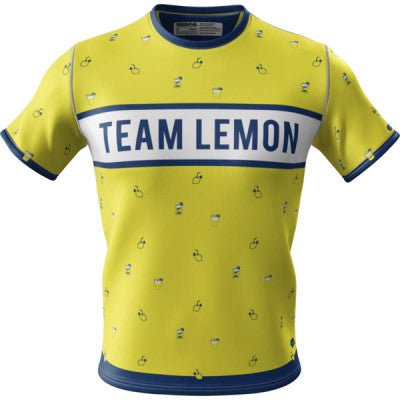 Team Lemon + Mens Short Sleeve REC T Elite
