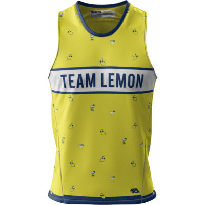 Team Lemon + Mens Grind Singlet