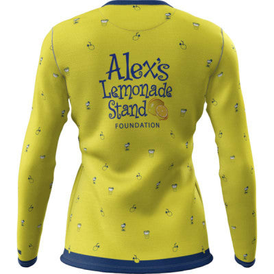 Team Lemon + Womens Long Sleeve REC T Elite
