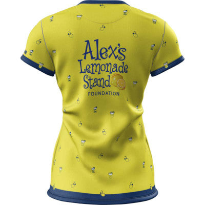 Team Lemon + Womens Short Sleeve REC T Elite