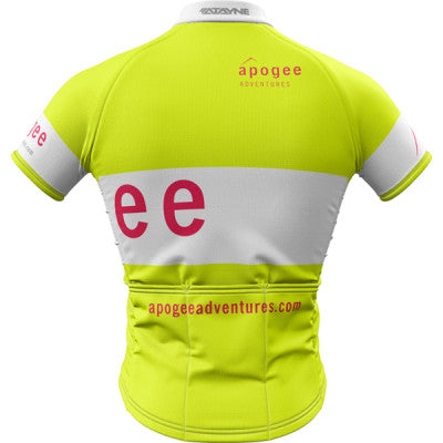 Apogee Adventures Hi-Vis Mens REC Cycling Jersey