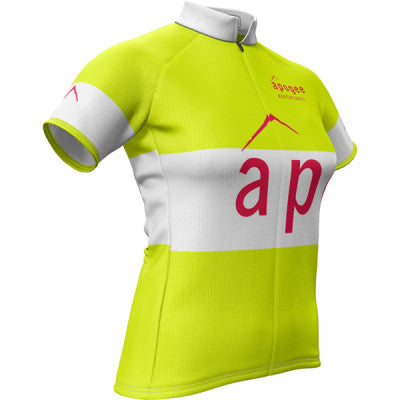Apogee Adventures Hi-Vis Womens REC Cycling Jersey
