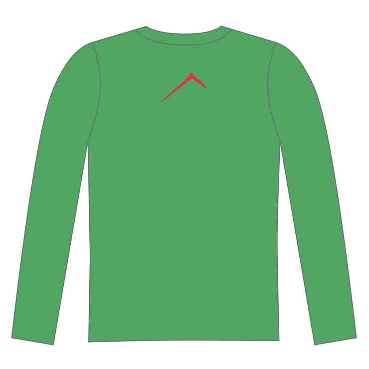 Apogee Adventures Long Sleeve Tech Tee Elite - Green