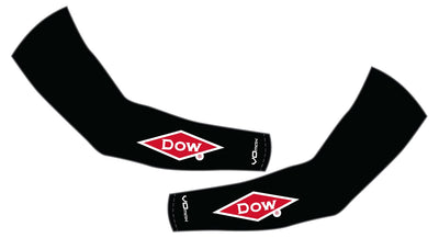 Team Dow Michigan Arm Warmers-Black