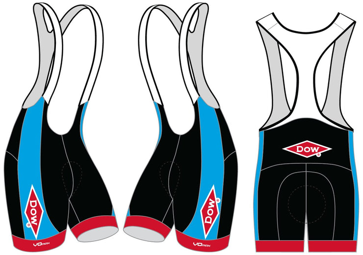 Team Dow Michigan Cycling Bibs