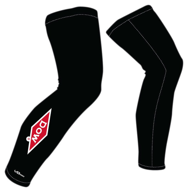 Team Dow Michigan Leg Warmers-Black