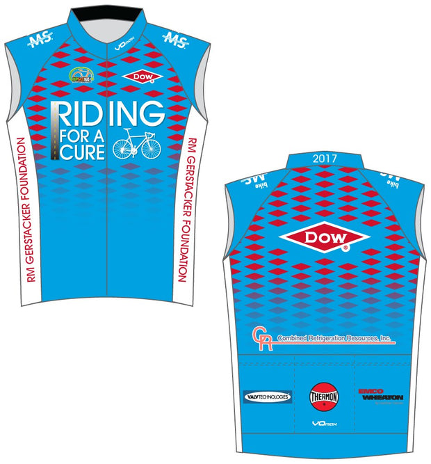 Team Dow Michigan Sleeveless Cycling Jersey
