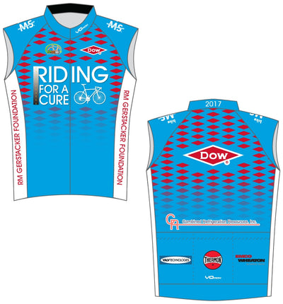 Team Dow Texas Sleeveless Cycling Jersey