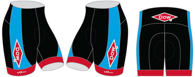 Team Dow Michigan Cycling Shorts