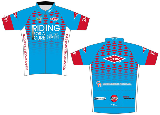 Team Dow Texas Short Sleeve Cycling Jersey