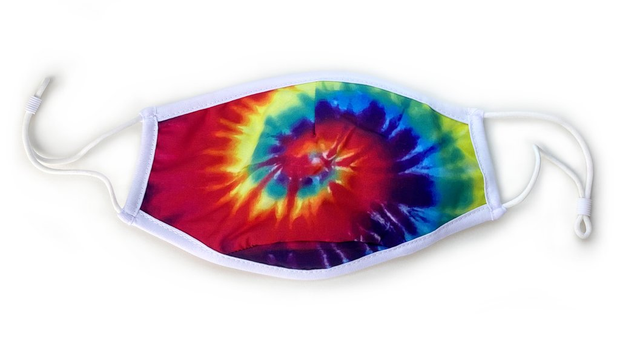 3-Layer Face Mask – Tie Dye Swirl