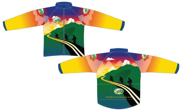 Mount Washington Bicycling Club Aero Windbreaker
