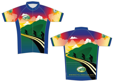 Mount Washington Valley Bicycling Club Cycling Jersey