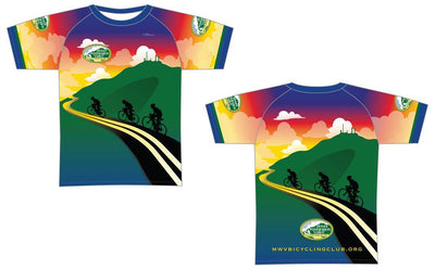 Mount Washington Valley Bicycling Club Elite Tee