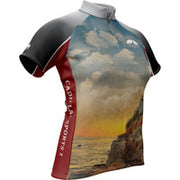 Cadillac Mountain Sports Landscape + Womens Cycling Jersey