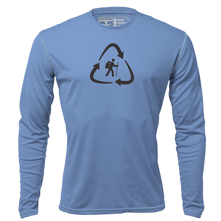 Recycled Hiker + Mens Long Sleeve REC T