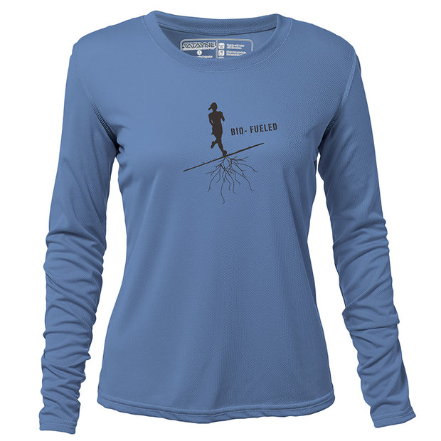 Bio-Fueled Runner + Womens Long Sleeve REC T
