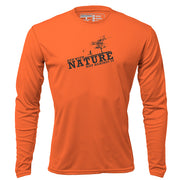 Run with Nature + Mens Long Sleeve REC T