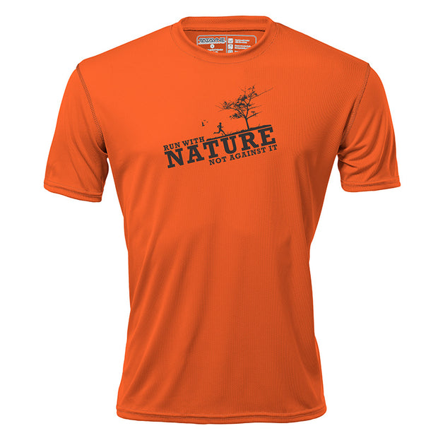 Run with Nature + Mens Short Sleeve REC T