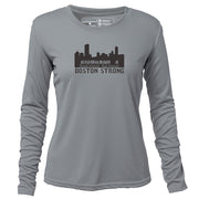 Boston Strong + Women's LS Running REC T