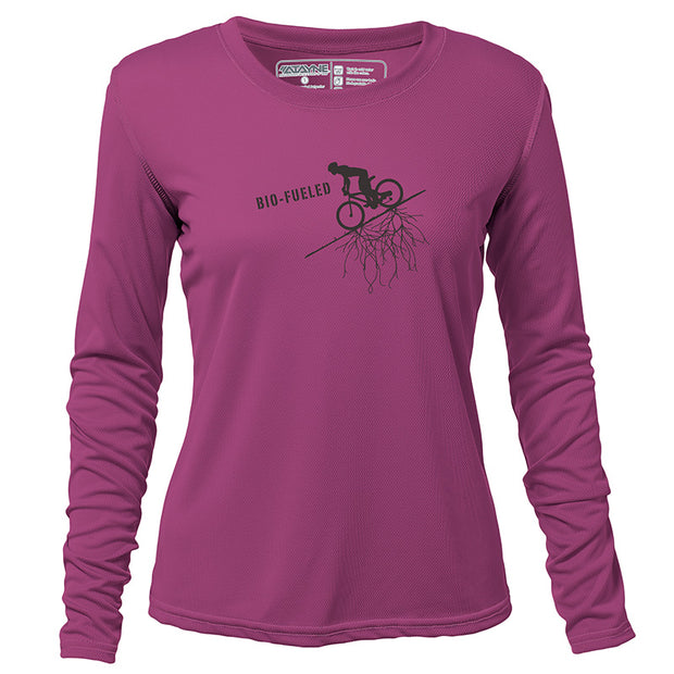 Bio-Fueled Rider + Womens Long Sleeve REC T