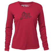 Run Hard Tread Lightly + Womens Long Sleeve REC T