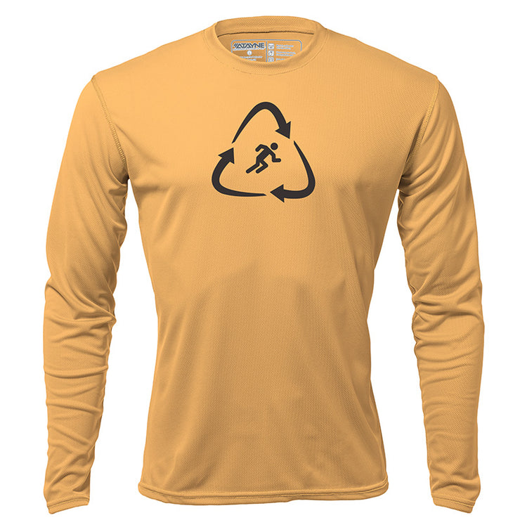 Recycled Runner + Mens Long Sleeve REC T