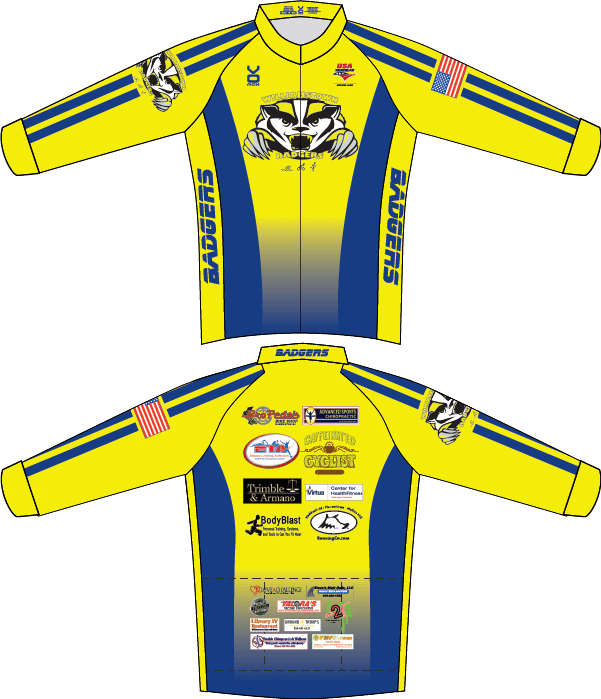 Badgers Cycling Jersey