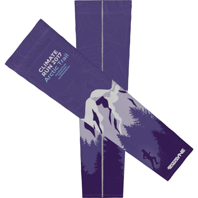 Climate Run Arctic Trail + Mens Arm Sleeves
