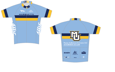 Marquette Short Sleeve Cycling Jersey