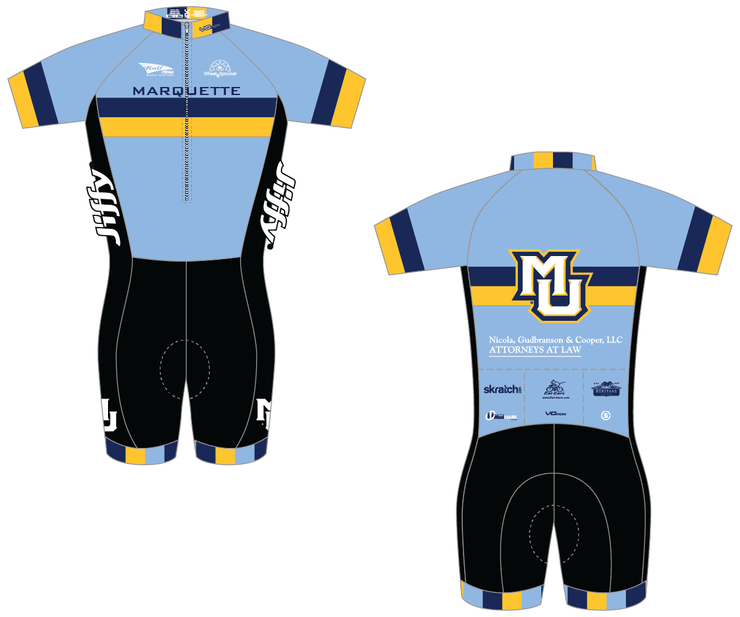 Marquette Short Sleeve Skinsuit