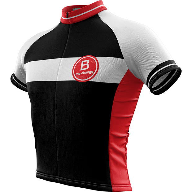 B the Change Mens Short Sleeve REC Cycling Jersey