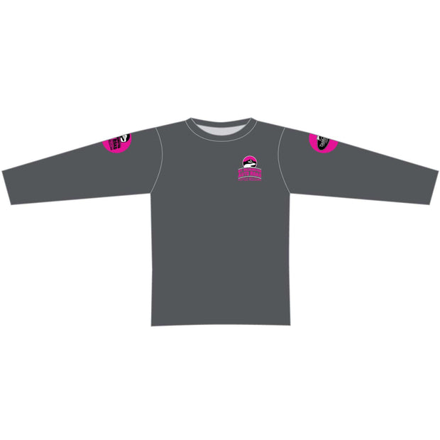 Mt. Washington Hill Climb Long Sleeve Tech Tee - Pink