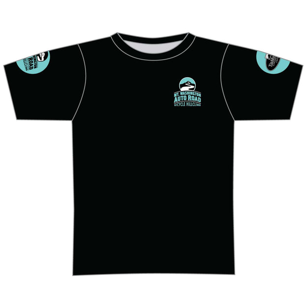 Mt. Washington Hill Climb Tech Tee - Celeste