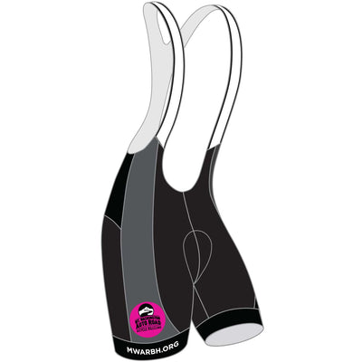 Mt. Washington Hill Climb Cycling Bibs - Pink