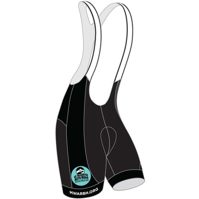 Mt. Washington Hill Climb Cycling Bibs - Celeste