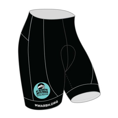 Mt. Washington Hill Climb Cycling Shorts - Celeste