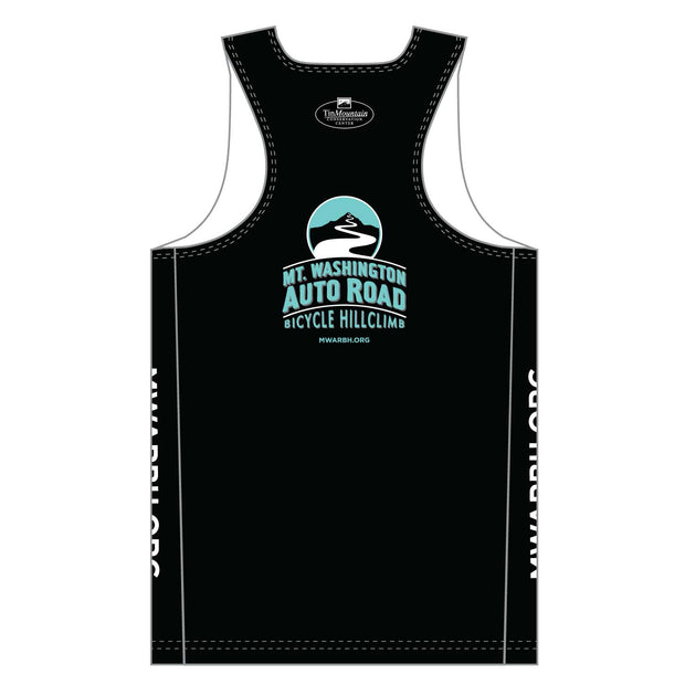 Mt. Washington Hill Climb Singlet - Celeste