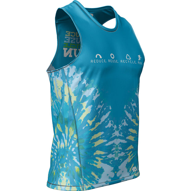 Reduce Reuse Recycle Run + Mens REC Singlet Elite