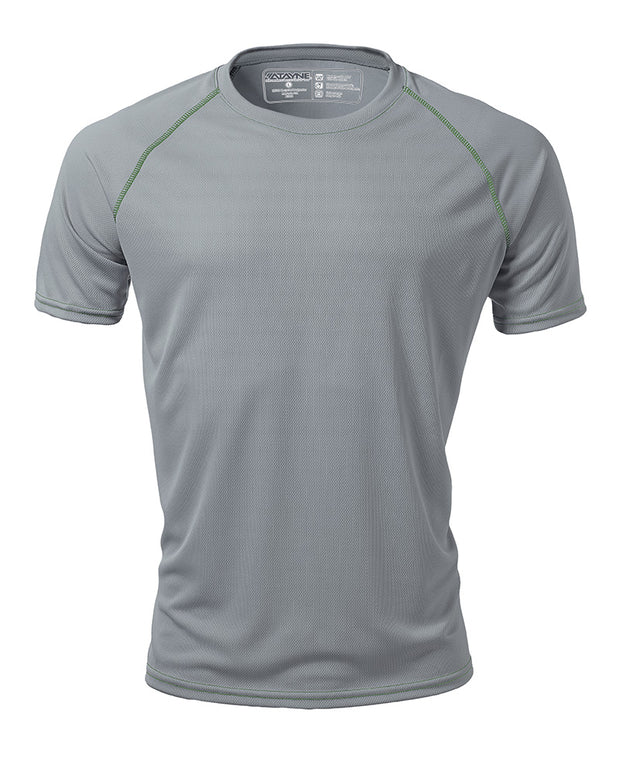Men's Short Sleeve Raglan REC T Crew Neck