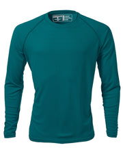 Men's Long Sleeve Raglan REC T Crew Neck