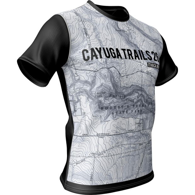 Cayuga Trails 26.2 + Mens Short Sleeve REC T Elite