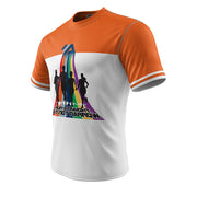 I Run Straight But Not Narrow + Mens Short Sleeve REC T Elite