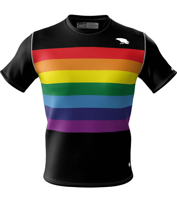 Unity Rainbow + Mens Short Sleeve REC T Elite