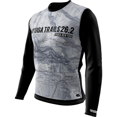 Cayuga Trails 26.2 + Mens Long Sleeve REC T Elite