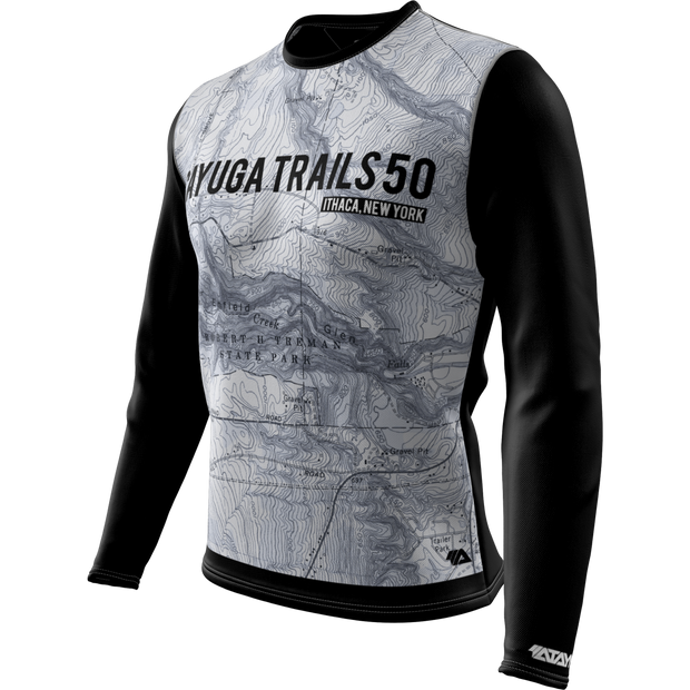 Cayuga Trails 50 + Mens Long Sleeve REC T Elite