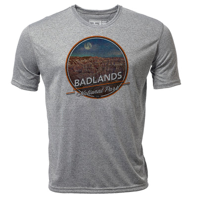 Badlands + Mens SS Hybrid T